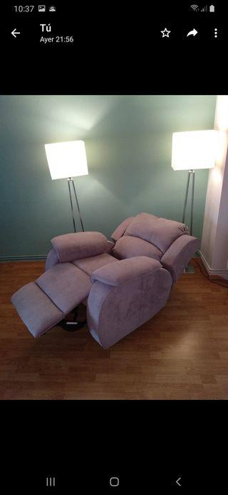 sofá, sillon, individual, relax, masaje, eléctrico
