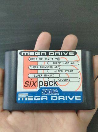 juego six pack de sega mega Drive