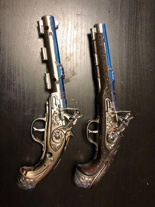 Pistola antigua gonher