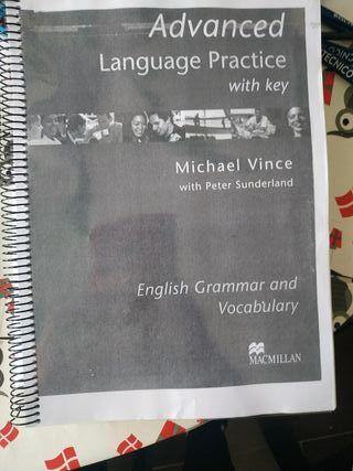 libro inglés C1 language practice