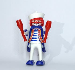 playmobil payaso marinero mazas