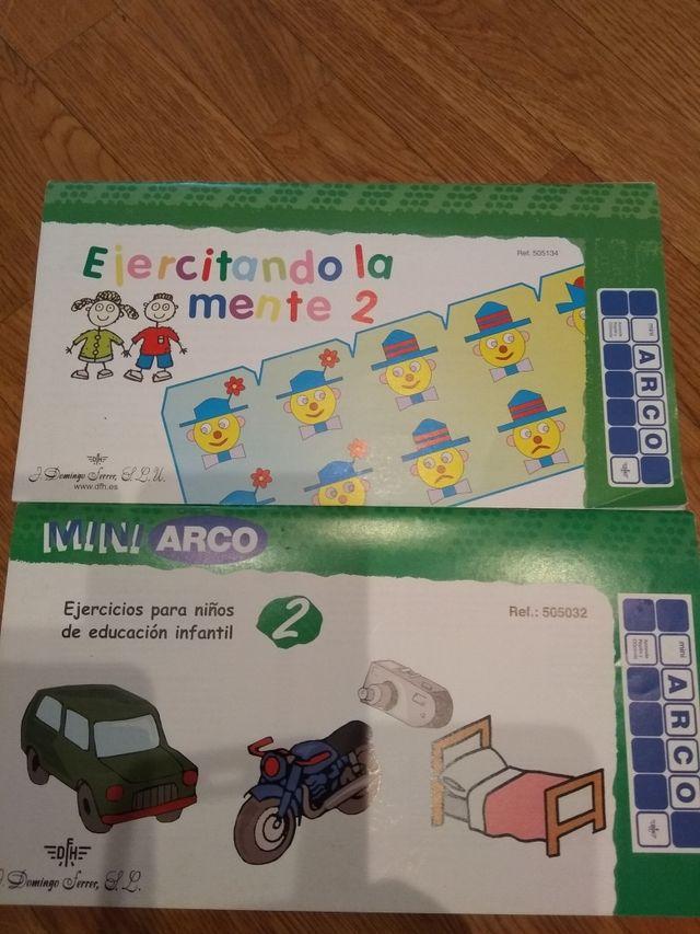 lote mini arco.educativo con 6 cuadernos
