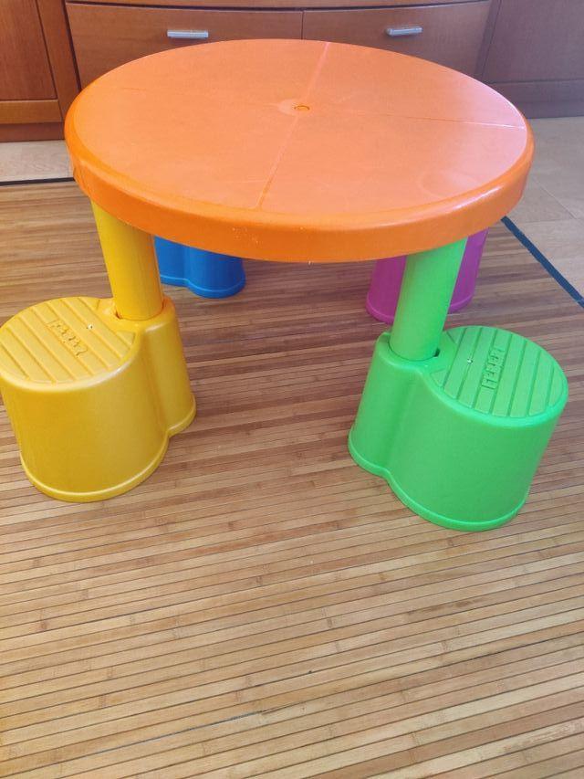 Mesa infantil flip flap imaginarium