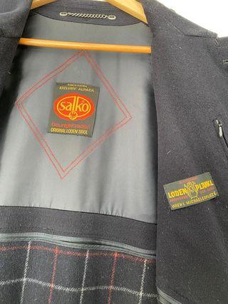 Abrigo Salko Loden Tirol. Talla 50 XL