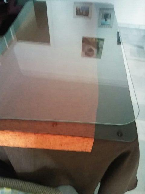 cristal templado de mesa camilla 70×115