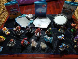Skylanders y Disney Infinity Wii u