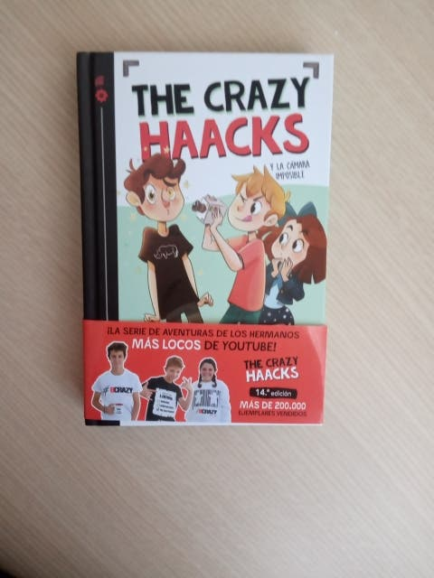 """Libro los Crazy Haacks """"la cámara imposible"""""""