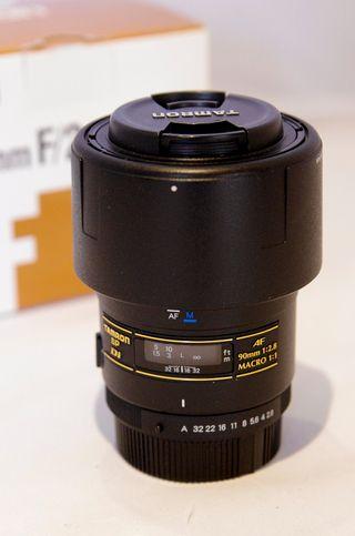 Objetivo Tamron SP AF 90mm 2.8 Macro 1:1 Pentax