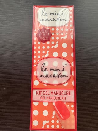 KIT GEL MANICURE SEPHORA LE MINI MACARON