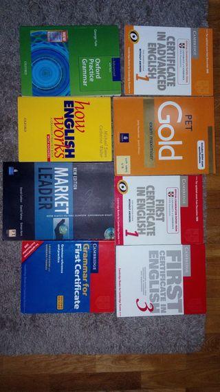 Libros gramática inglés Oficial Cambridge