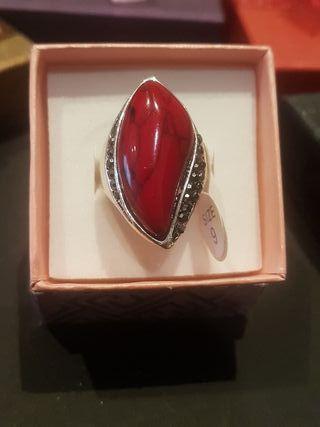 Oferta anillos rojos