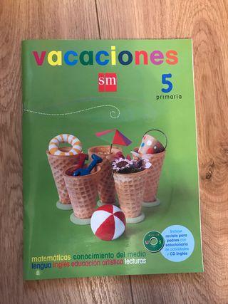 Libro actividades 5º de primaria
