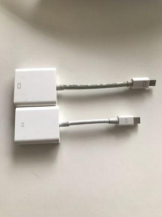 Adaptadores vga y hdmi para macbook