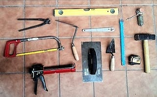 herramienta de albañil