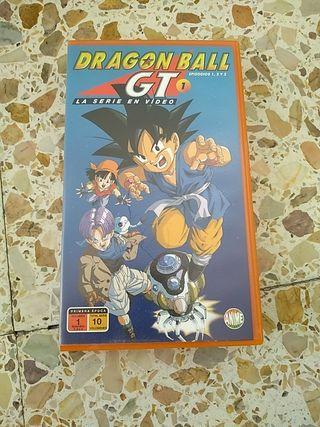 película de VHS Dragón Ball GT