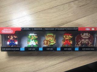 World of Nintendo Pack 5 figuras NES Classic Mario