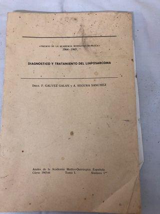Libro diagnóstico linfosarcoma