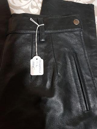 pantalon piel autentica