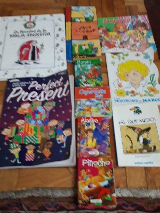 lote libros infantiles