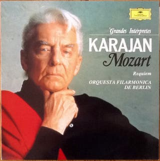"MOZART ""REQUIEM"" LP"