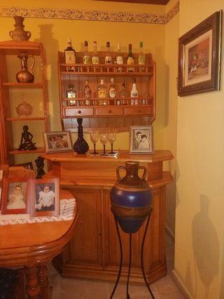 mueble bar madera maciza provenzal