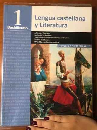 1 de Bachillerato Lengua Castellana y Literatura