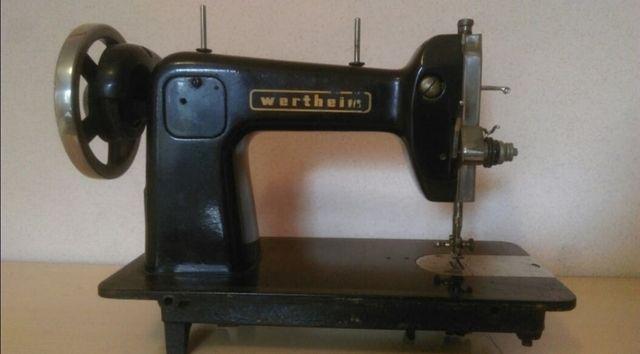 Máquina de coser wertheim precio negociable de segunda