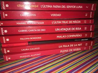 Pack de 8 libros (valenciano/castellano/inglés)