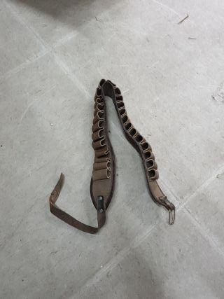 cinturón caza antiguo