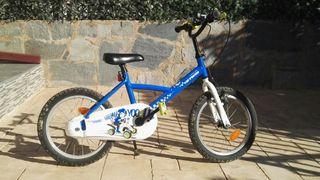 bicicleta infantil 16''