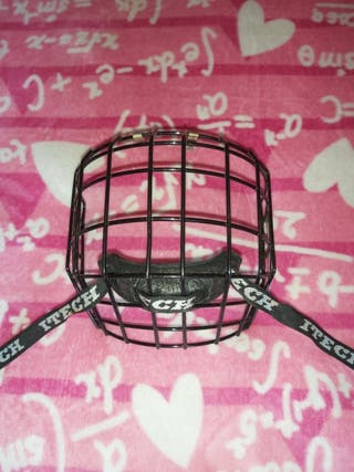 Rejilla casco Hockey