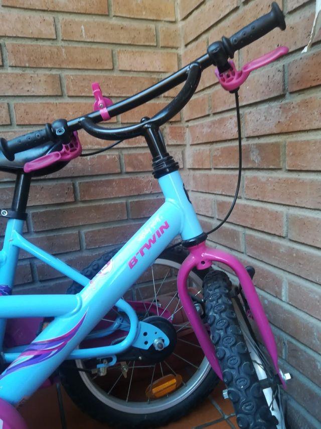 "2 Bicicletas Infantiles Decathlon 16"""