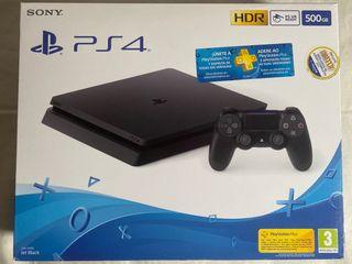 PS4 slim 500gb + 2 juegos