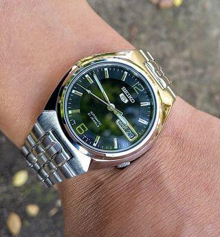 reloj Seiko automático original, como nuevo, 38mm
