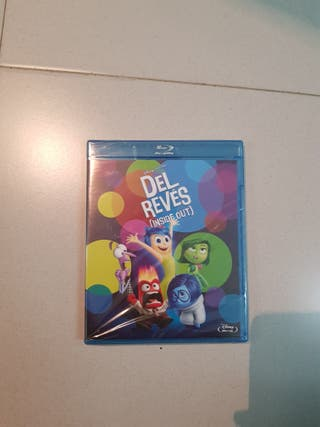 Del Revés. Inside Out. BluRay