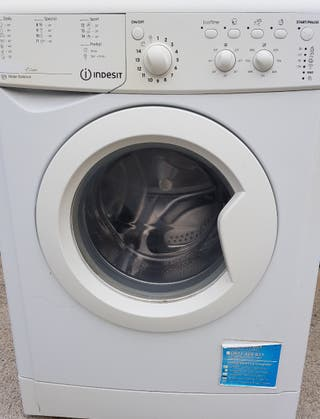 lavadora Indesit de 7 kg 1000 revoluciones