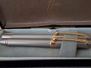 bolígrafo y pluma de colección Helio Ferretti
