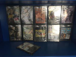 13 DVDs Cine clásico.