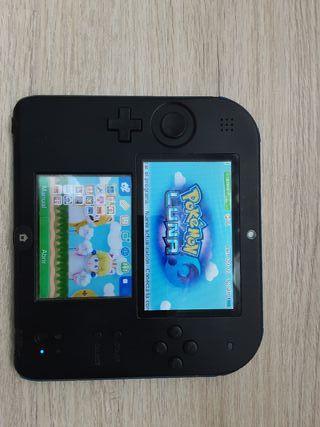 Nintendo 2DS+ Pokemon Luna y Pokemon Oro