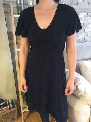 Vestido viscosa/poliéster Zara talla M a estrenar