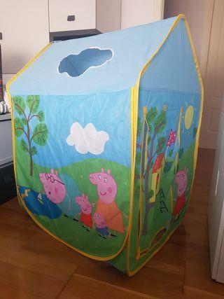 Tienda de campaña Peppa Pig,casa desmomtable, iglu