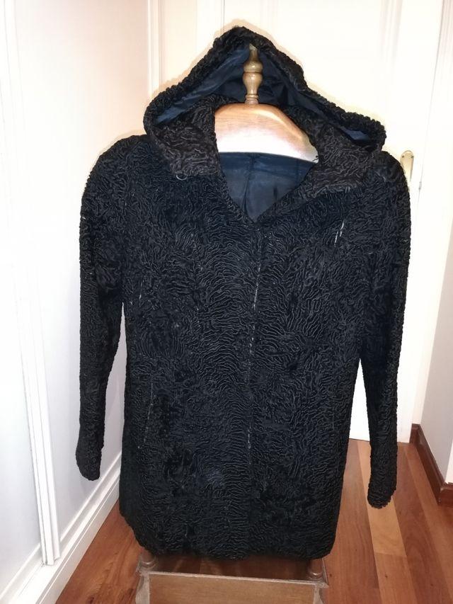 abrigo chaquetón garras astracán