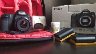 Canon 6D FULL FRAME 35mm objetivo
