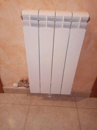 radiador de gas natural roca