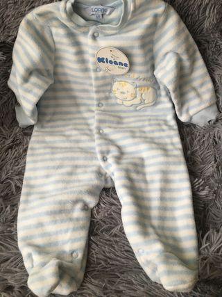 Pijama bebé invierno