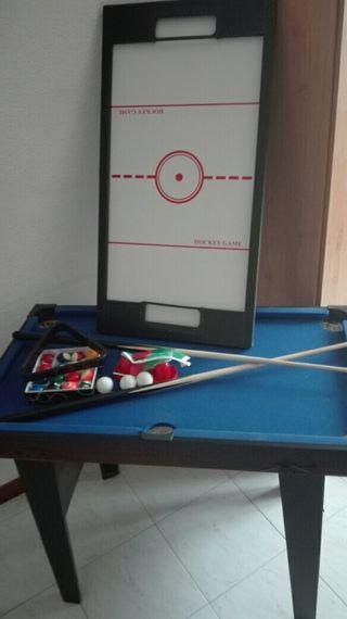 Mesa de billar, Ping-pong u Air hockey