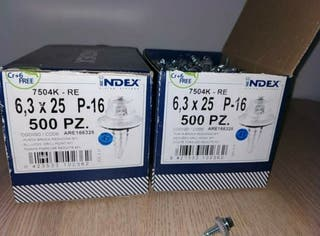 1000 tornillos 7504K-RE 6,3x25 P16
