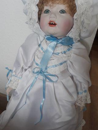 Muñeca cerámicaRamón Ingles.Colección. Antigua.