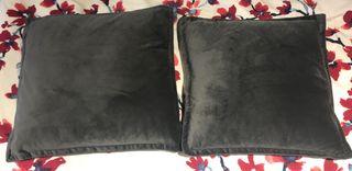 Dark Grey Soft Cushions