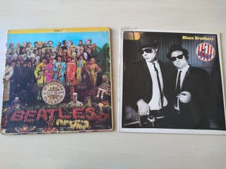 Vinilo The Beatles St. Peppers Club Band
